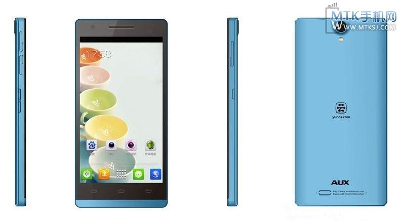 AUX W6   тонкий 5 дюймовый смартфон по цене около $ 200